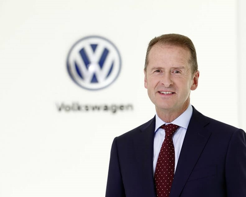 HERBERT DIESS IS THE NEW KINGPIN AT VW