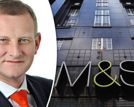 MARKS & SPENCER'S RECORDS A SECOND CONSECUTIVE LOW IN ANNUAL PROFITS