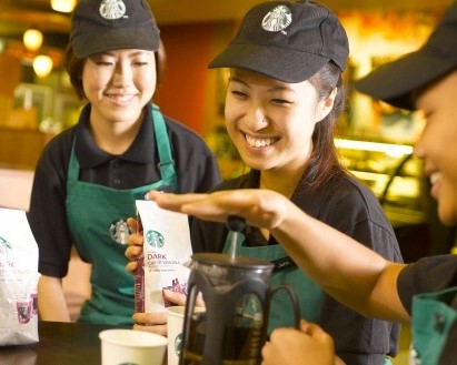 TAKING EMPLOYEE TRAINING TO A WHOLE NEW LEVEL - STARBUCKS