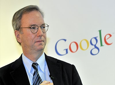 ERIC SCHMIDT STEPS DOWN AS ALPHABET BRACES FOR CHANGE
