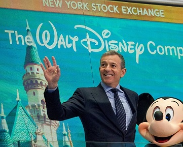 DISNEY SHAREHOLDERS MAKE BOB IGER'S MASSIVE PAY PACKAGE CONDITIONAL TO PERFORMANCE