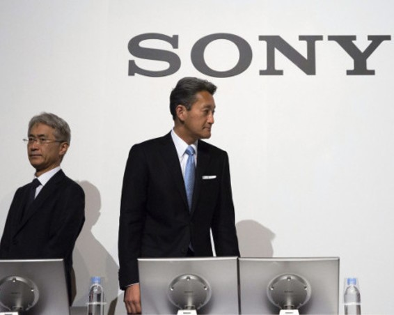 POWER CHANGES HANDS AT SONY, AS THE CURRENT CEO STEPS-DOWN