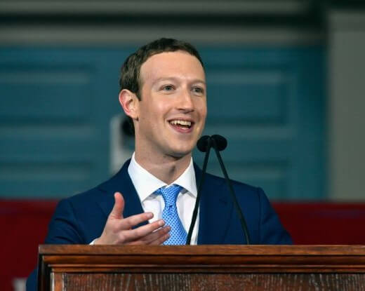ZUCKERBURG WANTS EMPLOYEES TO EMBRACE LIBERAL VIEWS