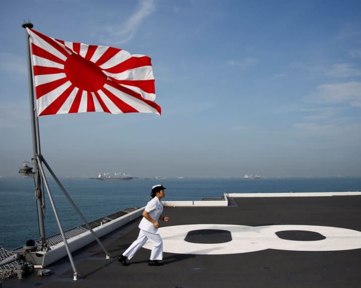 JAPAN WANTS ITS MILITARY TO BE MORE INCLUSIVE OF WOMEN