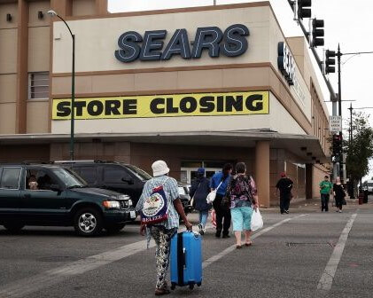 SEARS CEO COMES FORWARD TO FINANCE BANKRUPTCY PROCEEDINGS