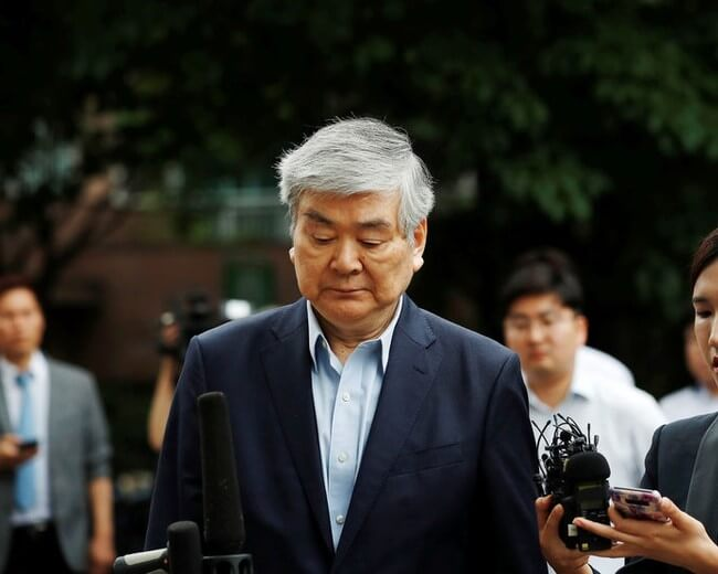 KOREAN AIR CHAIRMAN DRAGS COMPANY NAME TO IGNOMINY WITH EMBEZZLEMENT