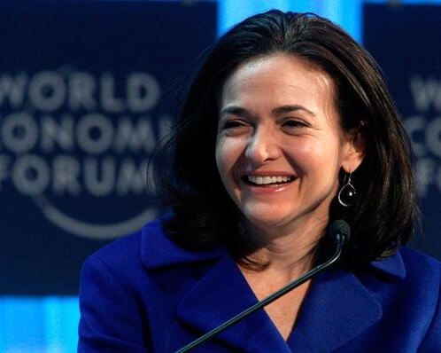 FACEBOOK COO CALLS OUT TO WOMEN TO LEAN IN AGAIN
