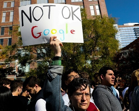 END FORCED ARBITRATION, THE GOOGLE WALKOUT GROUP STARTS TWITTER CAMPAIGN AGAINST ARBITRATION WOES