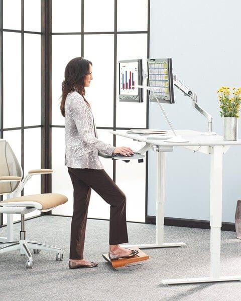 STANDING ON YOUR FEET CAN BE AS UNHEALTHY AS SITTING ALL DAY – GET MOVING