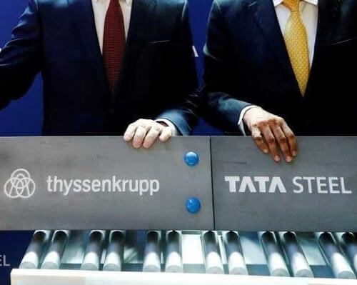 EMPLOYEES AT THYSSENKRUPP ARE NOT HAPPY ABOUT ITS JV WITH TATA STEEL