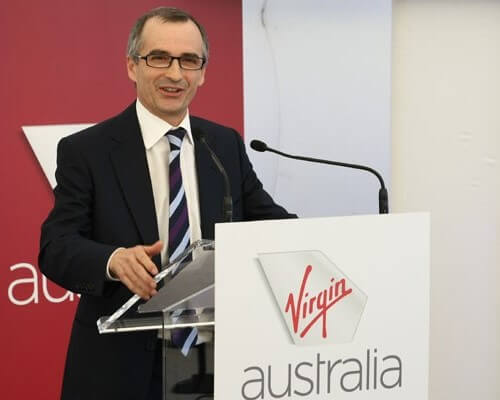 VIRGIN AUSTRALIA CEO STEPS DOWN, WITHOUT CONTENDERS FOR SUCCESSION