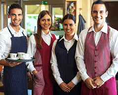 HOSPITALITY AND RETAIL WORKERS FEEL THEY ARE LAGGING BEHIND ON TECHNICAL SKILLS