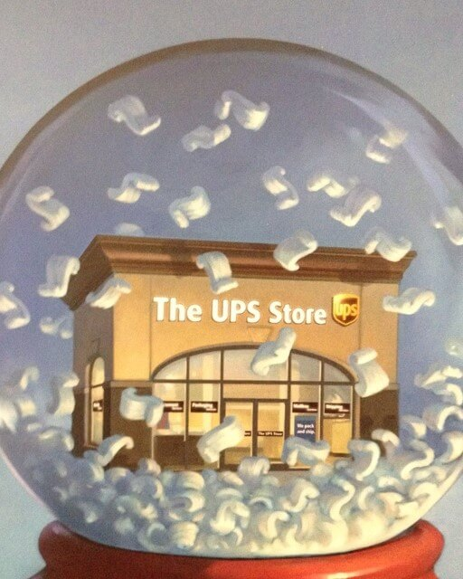 UPS TO STALK ITSELF WITH 100,000 WORKERS FOR THE HOLIDAY SEASON