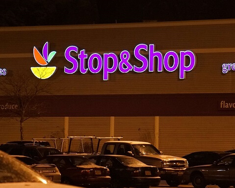 STRIKE MARKS ALL STOP AND NO SHOP FOR STOP & SHOP STORES
