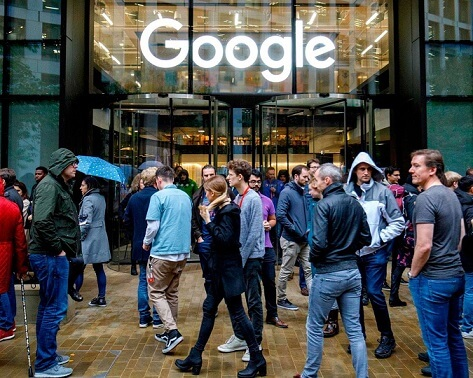 GOOGLE STRIKES BACK ON ITS WALKOUT EMPLOYEES