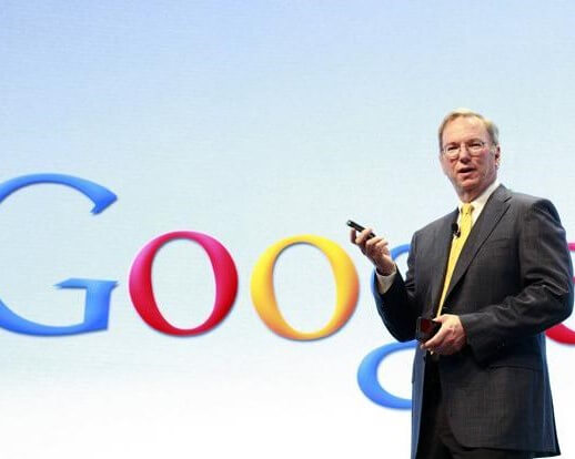 ERIC SCHMIDT AND DIANE GREENE TO LEAVE GOOGLE'S BOARD