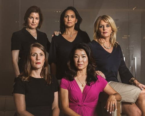 FIVE ANCHORWOMEN SUE NY1