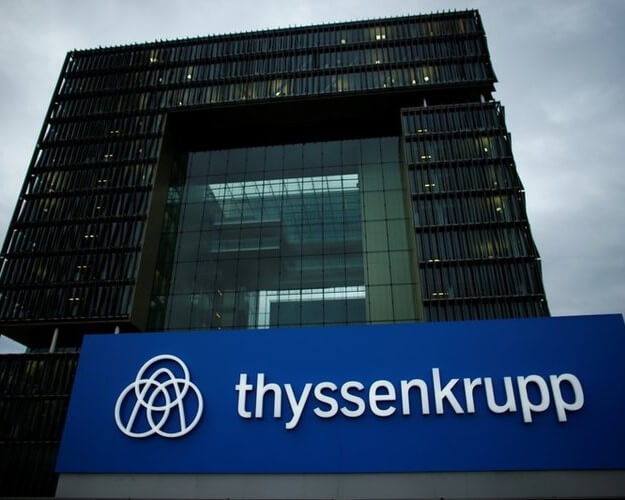 THYSSENKRUPP SEEKS TO WADE OFF EARLIER HICK-UPS WITH RESTRUCTURING