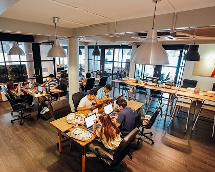 CO-WORKING IS TAKING OVER CITIES