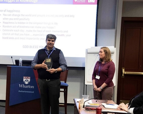 ANOTHER CLASS OF THE ELITE FELLOW PROGRAM IN TALENT MANAGEMENT CONCLUDES AT WHARTON