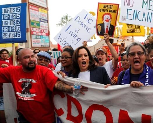 FAST FOOD WORKERS DEMAND BETTER PAY AMID VIOLENCE