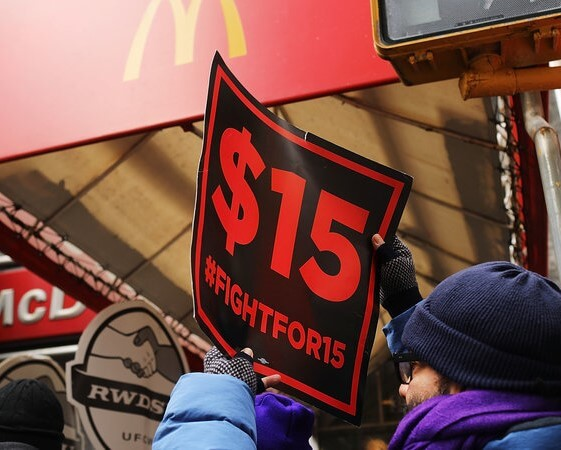 TWO- THIRD AMERICAN FAVOR RAISING MINIMUM WAGE