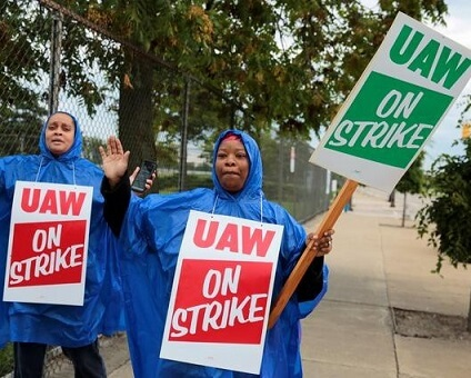 UA WORKERS STAGE STRIKE POST FAILED LABOR TALKS