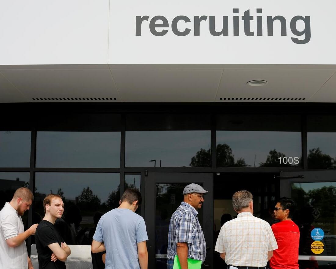 U.S HAS MORE JOBS THAN JOB SEEKERS