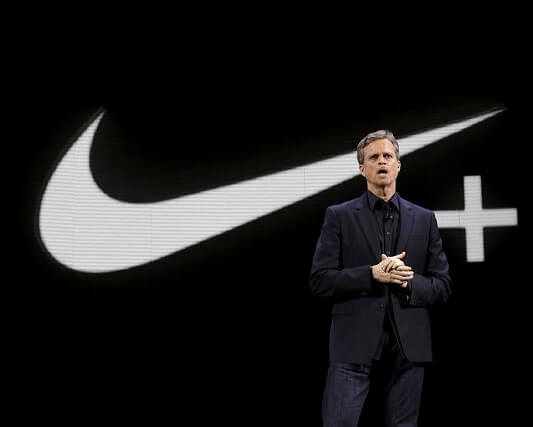 NIKE'S CHIEF EXECUTIVE OFFICER STEPS DOWN