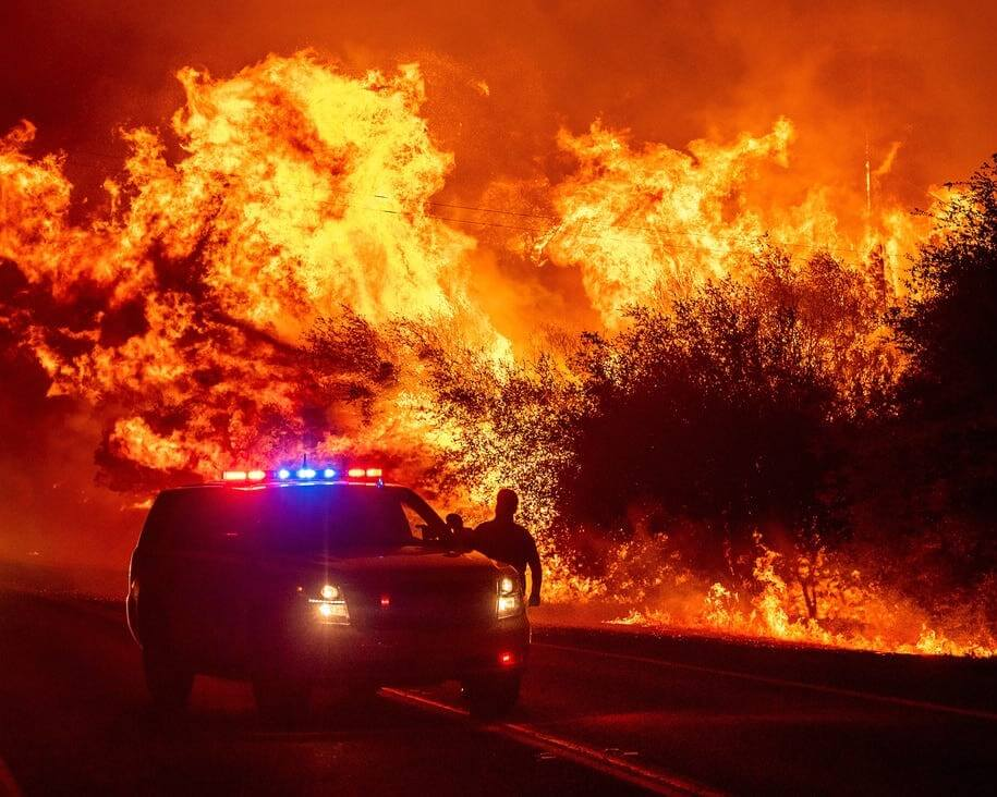 Wildfires in California broach questions on safety of workers!